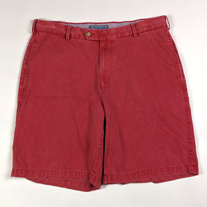 Peter Millar Classic Fit Size 34 Vintage Red Wash
